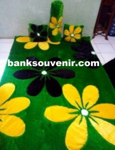 Karpet Karakter Flower