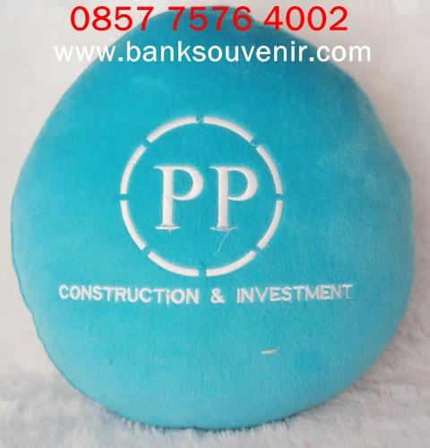 Souvenir Bantal Bulat Promosi