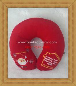 Bantal Leher Natal Edition
