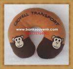 Bantal Leher Promosi Giofell Transport