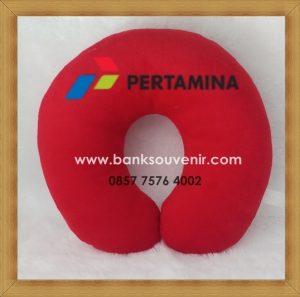 Bantal Leher Promosi PT Pertamina