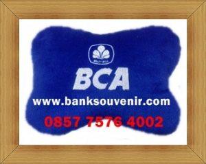Bantal Tulang Souvenir Bank BCA