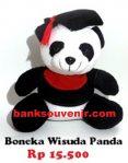 Boneka Wisuda Panda