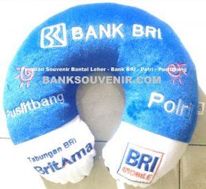 Bantal Leher Promosi Bank BRI Custome