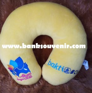 Bantal Leher Bank Custom