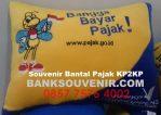 Bantal kotak promosi Pajak KP2KP