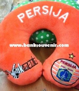Bantal Leher Club Bola Custom