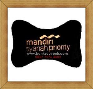 Bantal Tulang Souvenir Bank Mandiri Syariah Priority