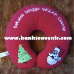 Bantal Leher Custom Natal