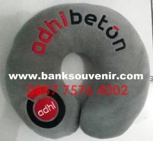 Bantal Leher Souvenir BUMN Adhi Beton