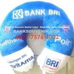 Bantal Leher Souvenir Bank BRI – Polri