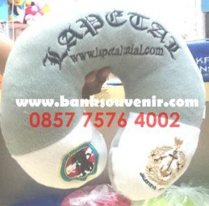 Bantal Leher Souvenir TNI AL
