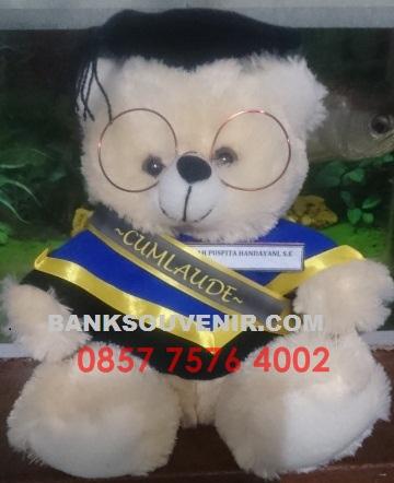 souvenir boneka wisuda