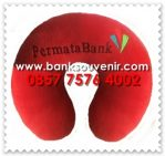 Bantal Leher Promosi Bank Permata