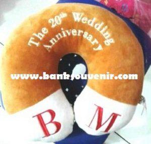 Bantal Leher Wedding Custom