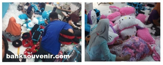 packing bantal