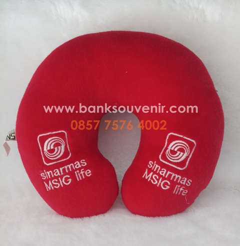 Souvenir Bantal Leher Asuransi