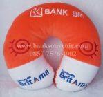Souvenir Bantal Leher Promosi Bank BRI – BritAma
