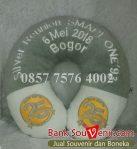Bantal leher souvenir Silver Reunion SMAPI ONE '93