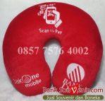 bantal leher souvenir Bank DKI