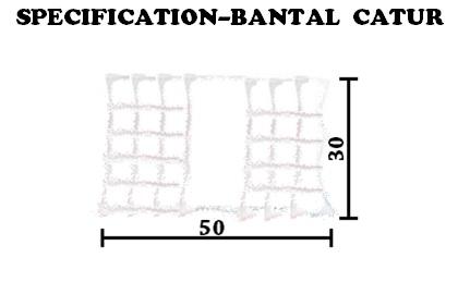 spesifikasi bantal catur