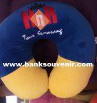 Bantal Leher Promosi Jasa Tour Custom
