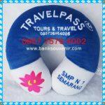 Bantal Leher Travel Pass