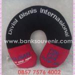 Bantal Leher Souvenir Promosi Bank BRI