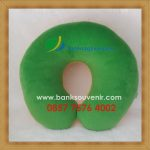 Souvenir Bantal Leher BPJS Ketenagakerjaan