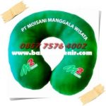 Bantal Leher Promosi PT Moisani