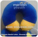 Bantal Leher Bank Mandiri