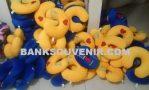 Bantal Leher Promosi Travel Custom