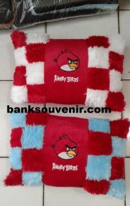 Bantal Catur Angry Bird