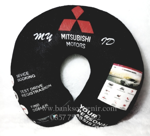 Souvenir Bantal Leher Automotif
