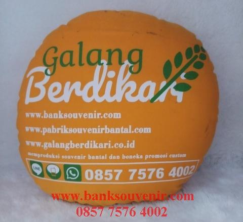souvenir bantal printing
