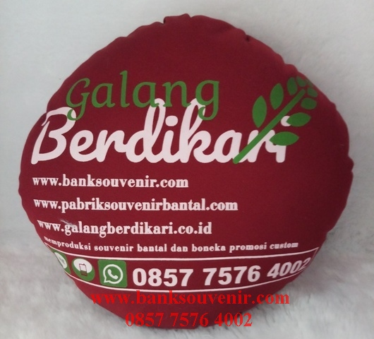 Bantal Bulat Custom