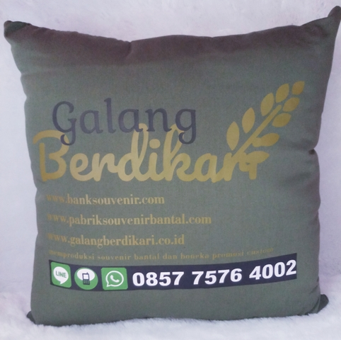 Bantal custom GB