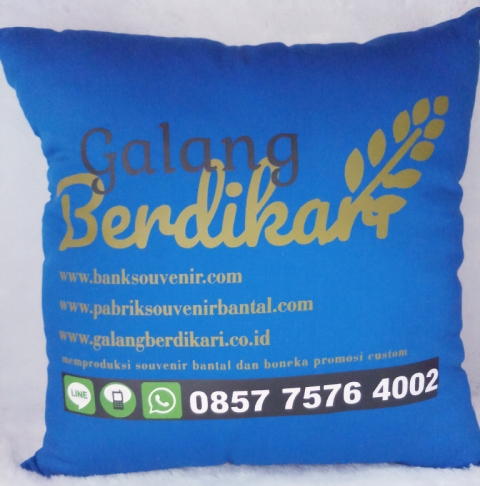 Souvenir bantal sofa