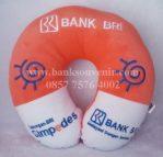 Souvenir bantal leher Bank BRI Simpedes