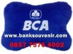 Souvenir Bantal Mobil Bank BCA