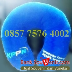 Souvenir Bantal Custom KPPN Kementerian Keuangan Republik Indonesia