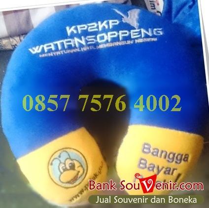 souvenir bantal custom Pajak KP2KP