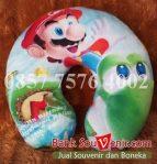 souvenir bantal ultah Printing Mario