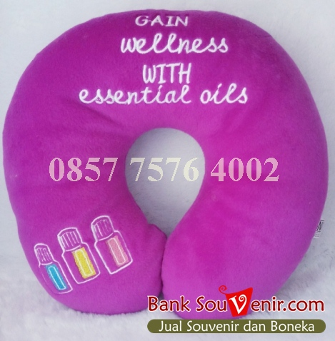 Souvenir Bantal Leher Essential Oils