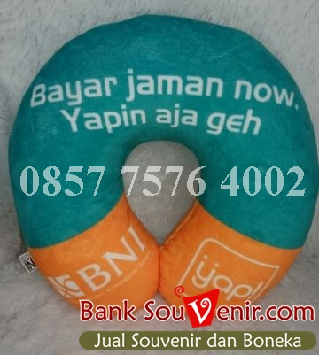 Bantal Printing Bank BNI