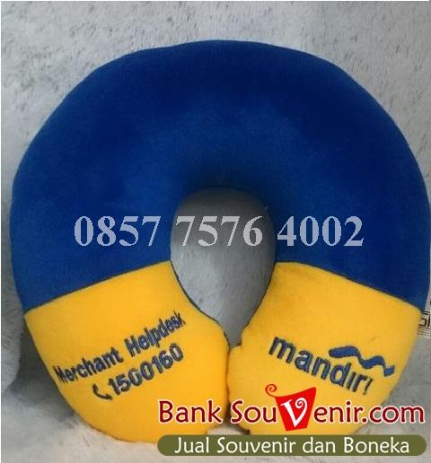 Bantal Leher Souvenir Bank Mandiri - Merchant Helpdesk