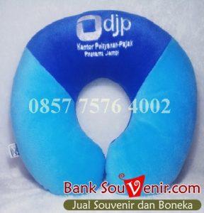 Souvenir Bantal Custom DJP Kantor Pelayanan Pajak Pratama Jambi