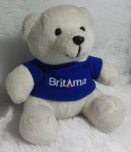 souvenir boneka beruang kecil di Pematang Siantar
