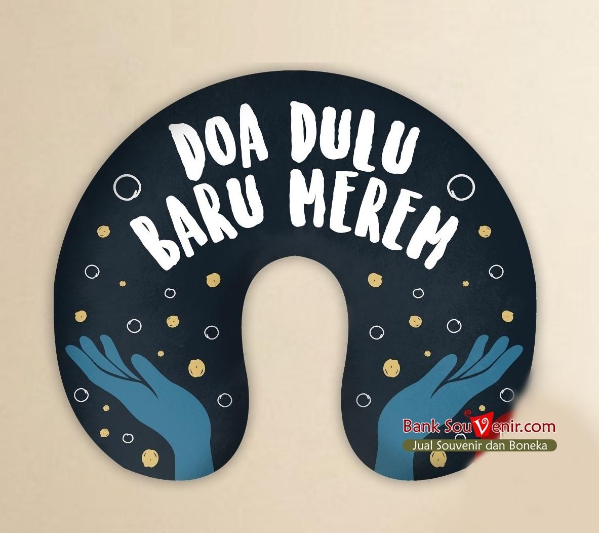 Souvenir Bantal Leher Sablon Di Bekasi