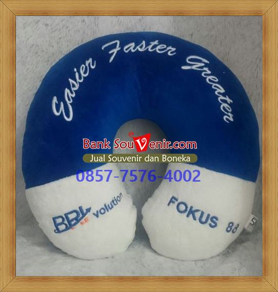 souvenir bantal custom
